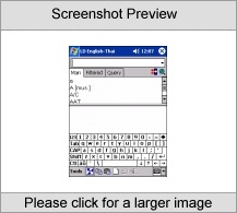 LingvoSoft Talking Dictionary English <-> Thai for Pocket PC Screenshot